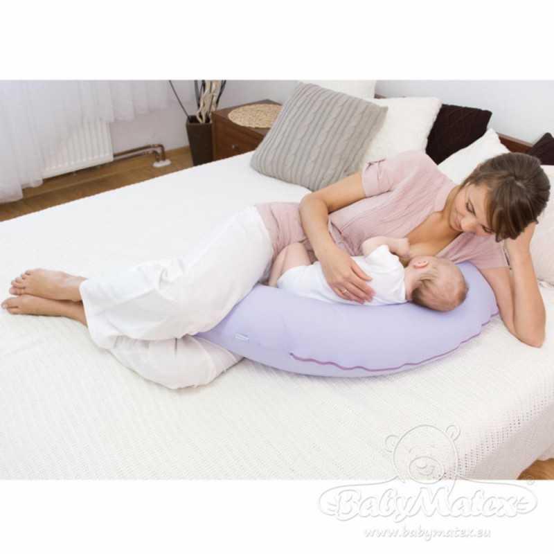 BabyMatex Relax Tuki/Imetystyyny 190cm, Kukkakuosi BabyMatex - 3