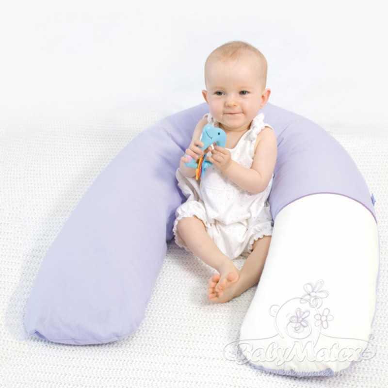 BabyMatex Relax Tuki/Imetystyyny 190cm, Kukkakuosi BabyMatex - 5
