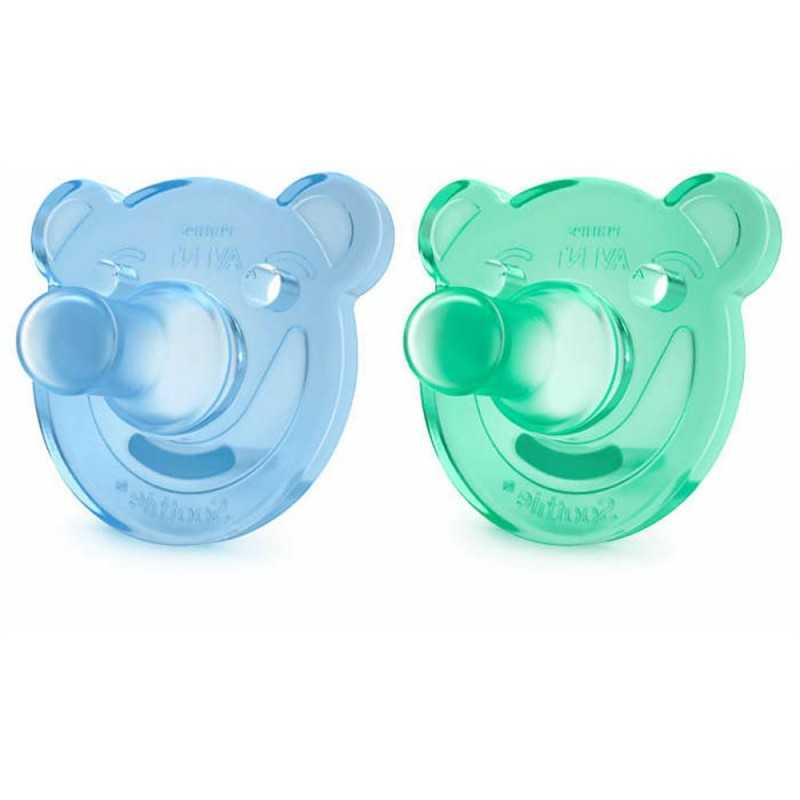 Avent Huvitutti Soothie shapes boy 0-3kk Avent - 1