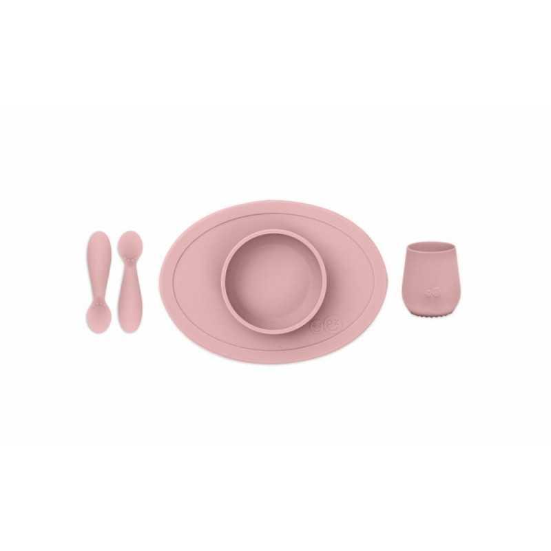 ezpz First Food Set, Blush Ezpz - 1