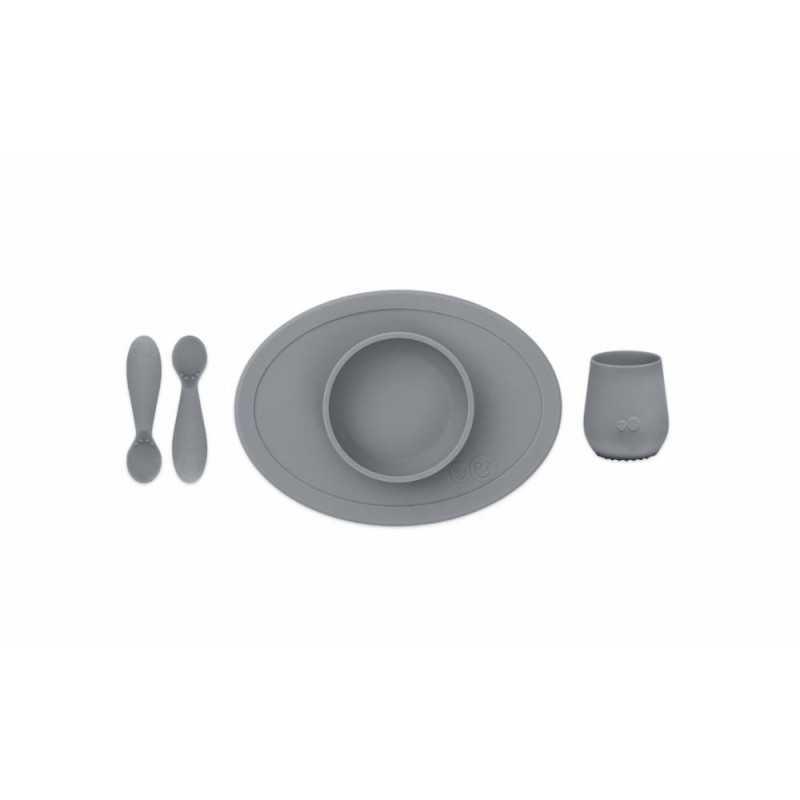 ezpz First Food Set, Gray Ezpz - 1
