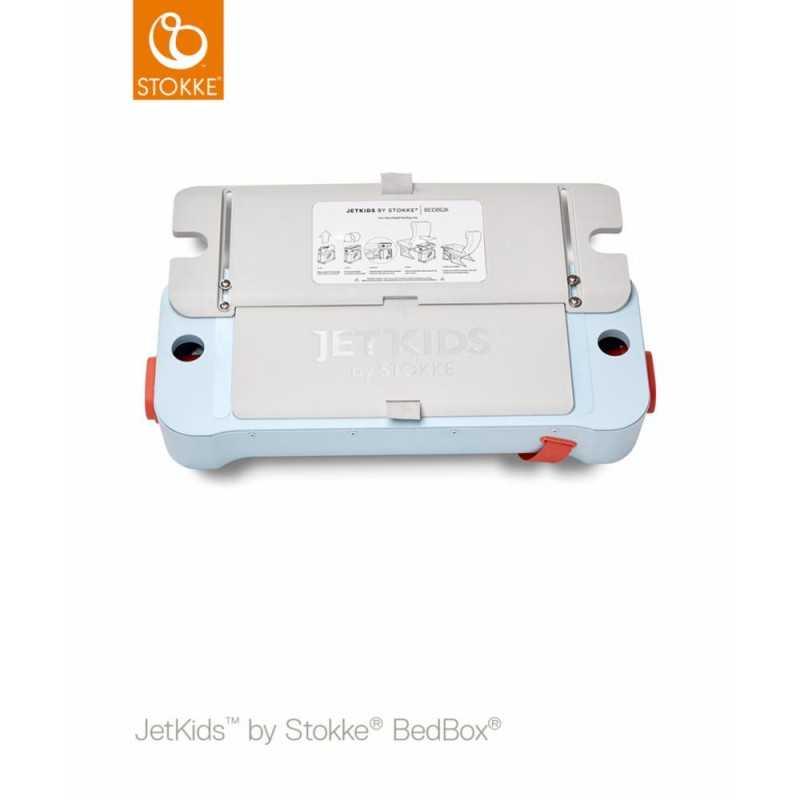 JetKids by Stokke Bedbox Matkalaukku, blue sky Stokke - 3