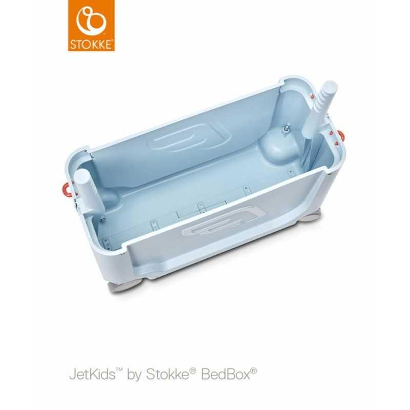 JetKids by Stokke Bedbox Matkalaukku, blue sky Stokke - 4