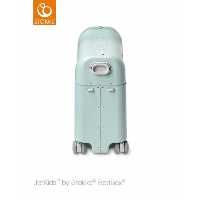 JetKids by Stokke Bedbox Matkalaukku, green aurora Stokke - 3