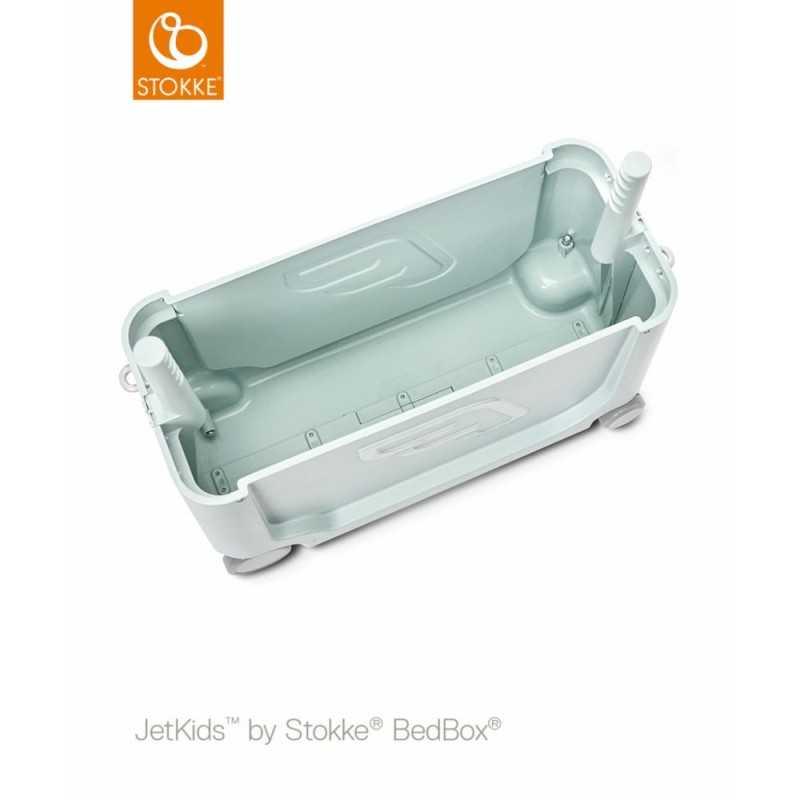 JetKids by Stokke Bedbox Matkalaukku, green aurora Stokke - 4