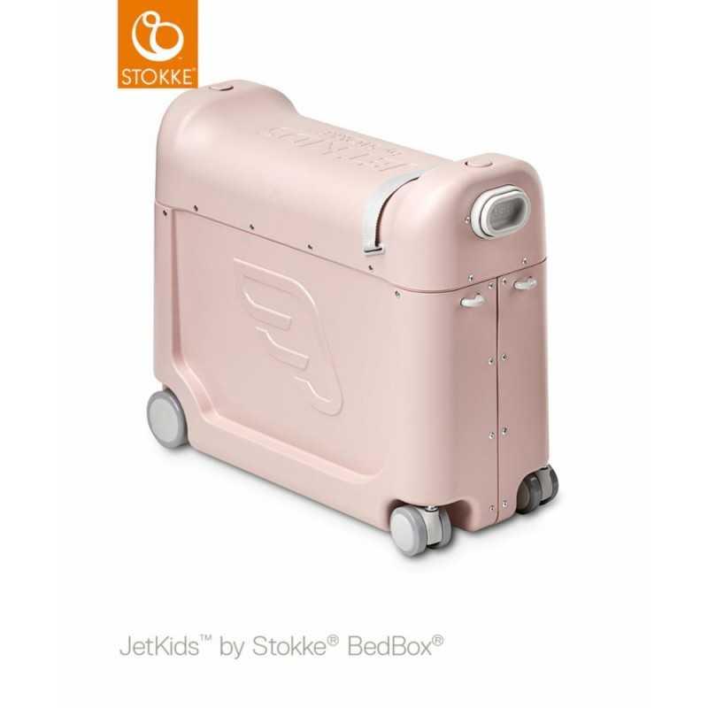 JetKids by Stokke Bedbox Matkalaukku, Pink lemon Stokke - 1