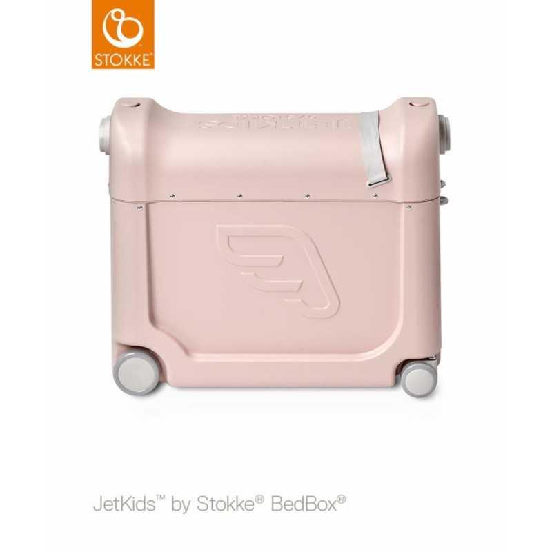 JetKids by Stokke Bedbox Matkalaukku, Pink lemon Stokke - 2