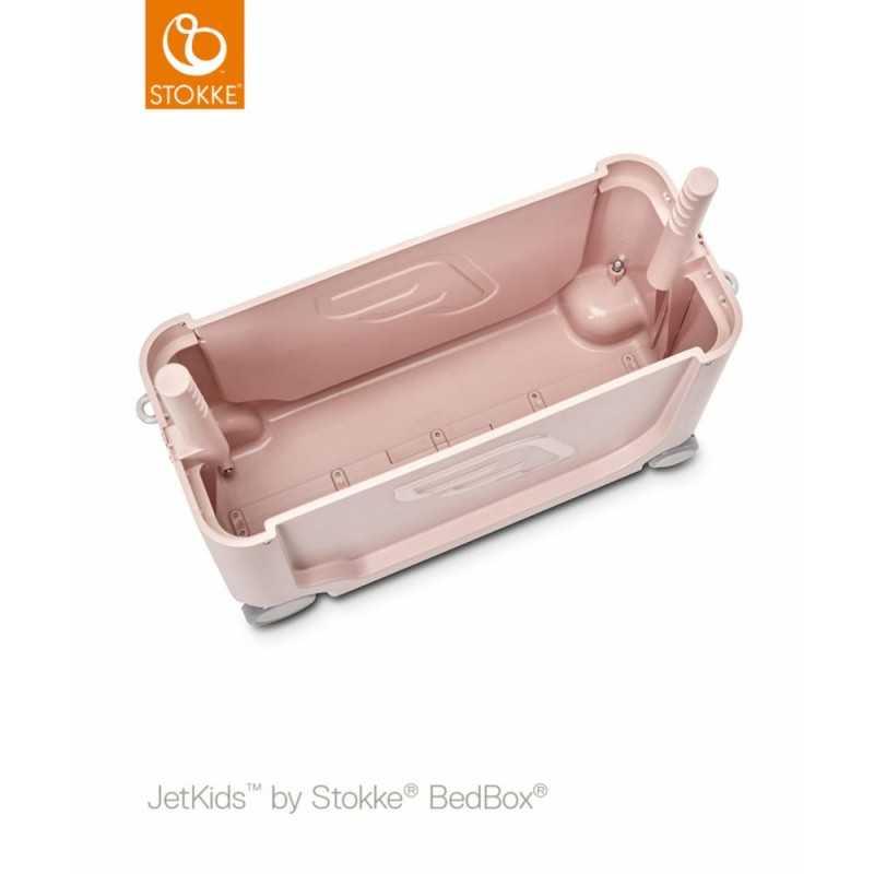 JetKids by Stokke Bedbox Matkalaukku, Pink lemon Stokke - 3