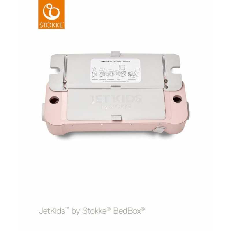 JetKids by Stokke Bedbox Matkalaukku, Pink lemon Stokke - 4