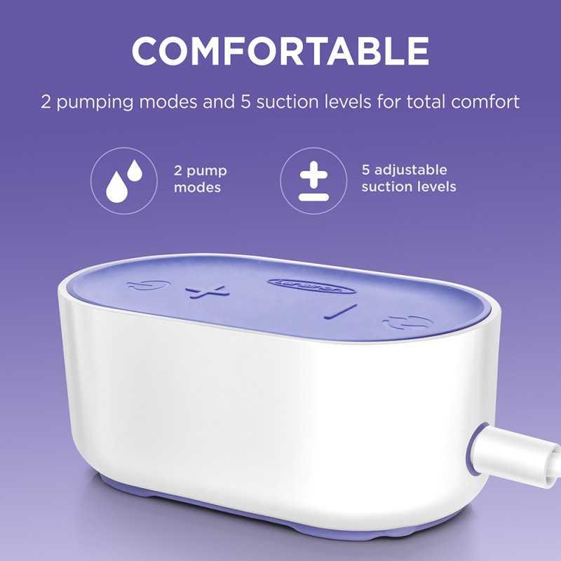 Lansinoh Compact Single sähkökäyttöinen rintapumppu Lansinoh - 3