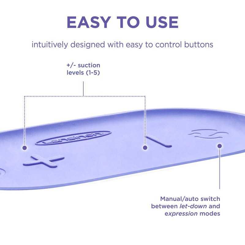 Lansinoh Compact Single sähkökäyttöinen rintapumppu Lansinoh - 4