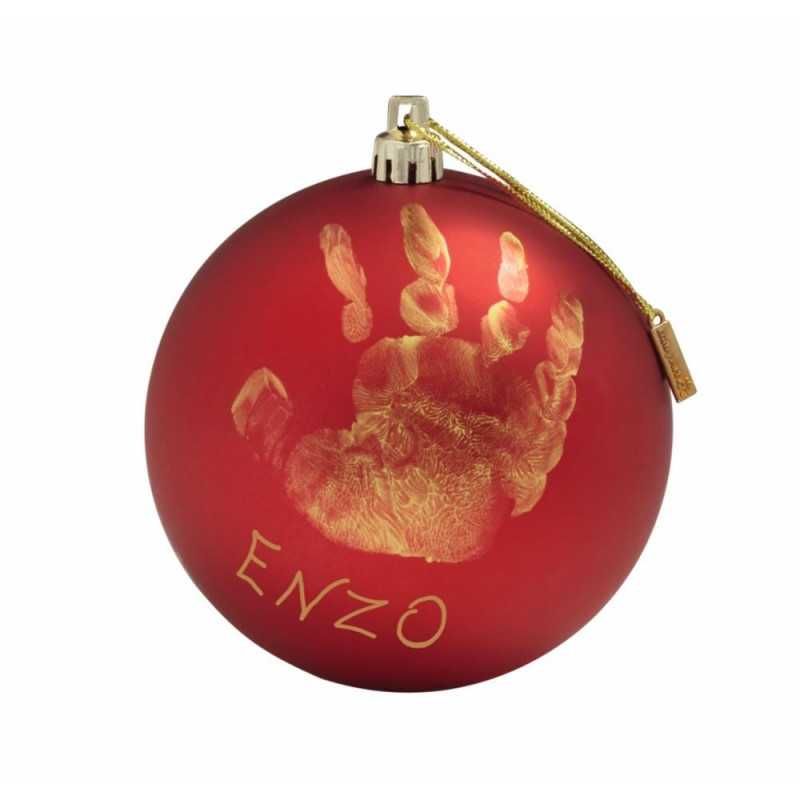 Baby Art Joulupallo, Punainen Baby Art - 1