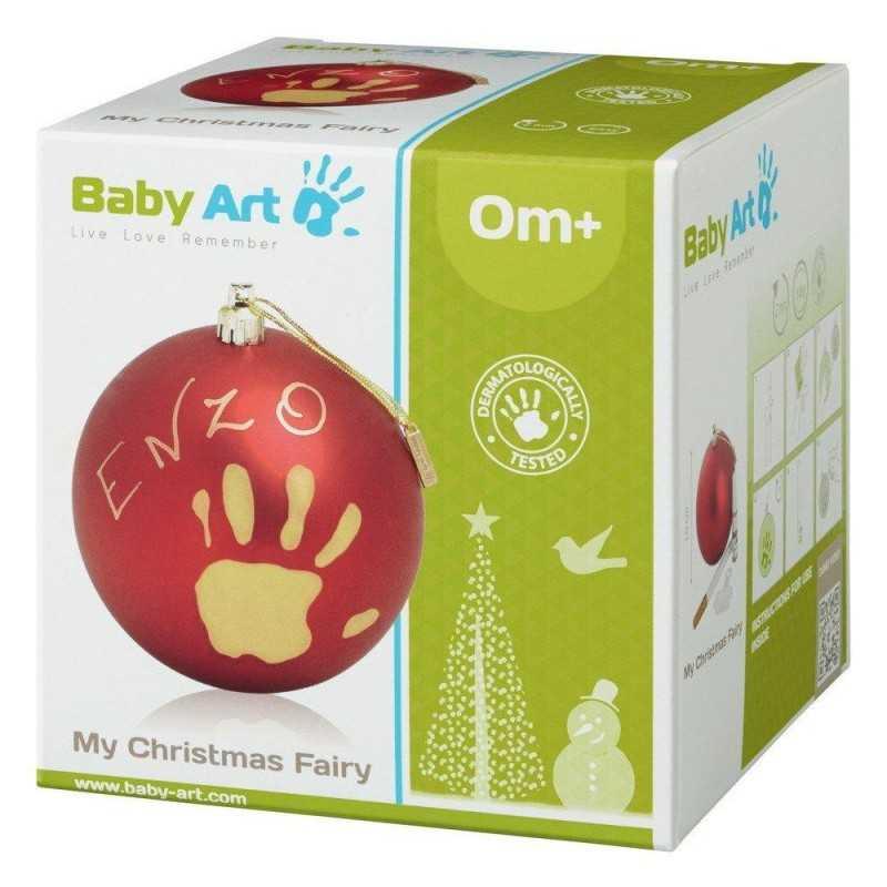Baby Art Joulupallo, Punainen Baby Art - 2