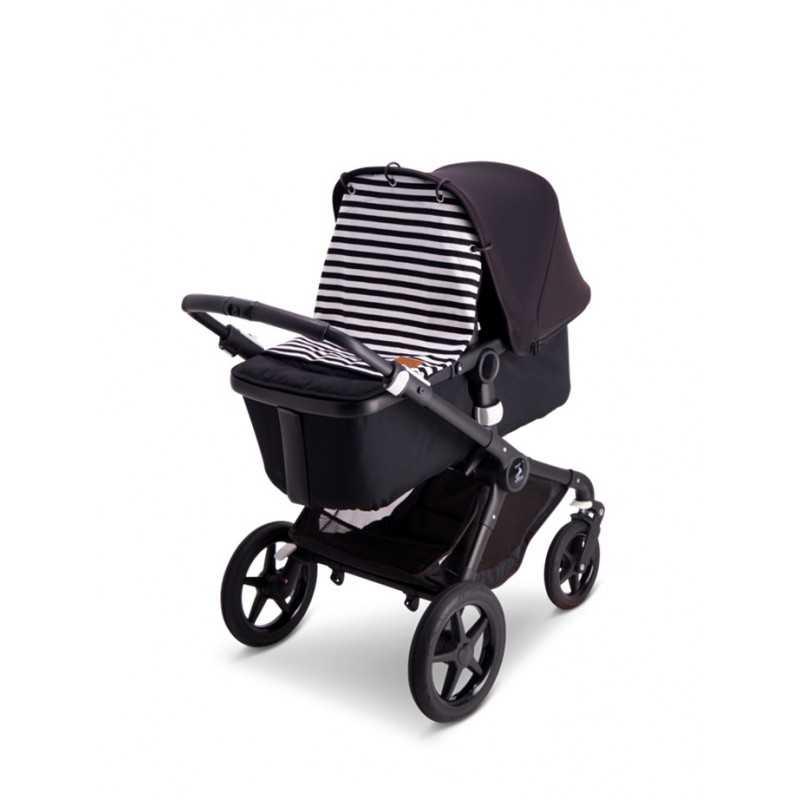 BabyWallaby Vaunuverho, Mustavalkoraidallinen Baby Wallaby - 2