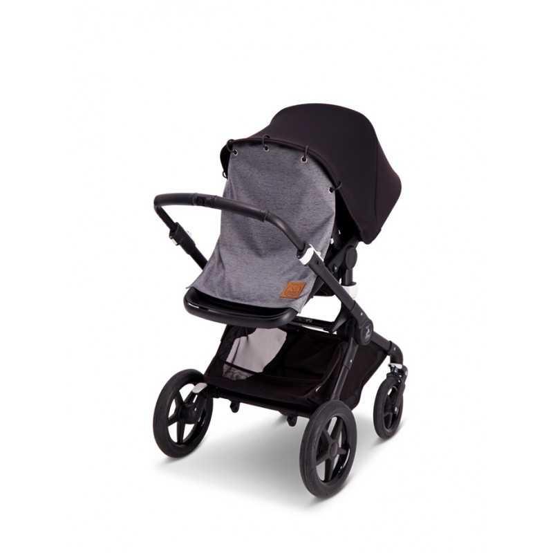 BabyWallaby Vaunuverho, Tummanharmaa Baby Wallaby - 2