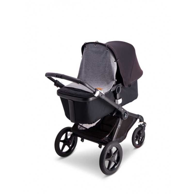 BabyWallaby Vaunuverho, Tummanharmaa Baby Wallaby - 3