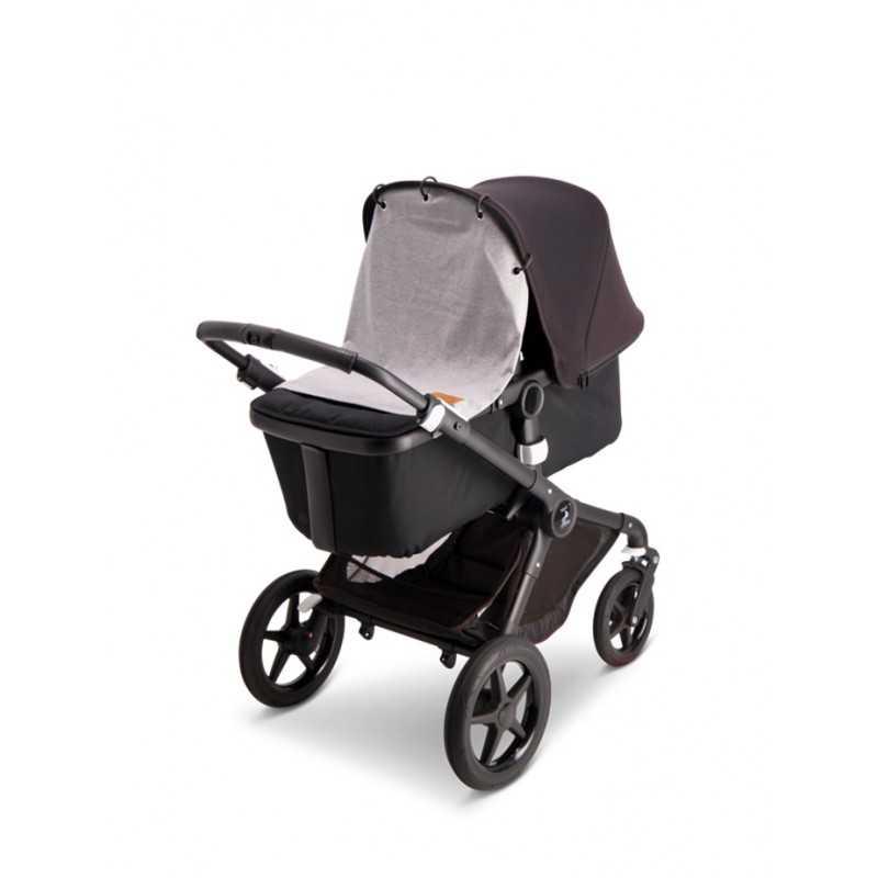 BabyWallaby Vaunuverho, Vaaleanharmaa Baby Wallaby - 2