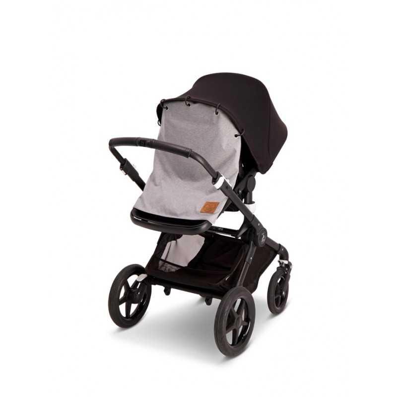 BabyWallaby Vaunuverho, Vaaleanharmaa Baby Wallaby - 3