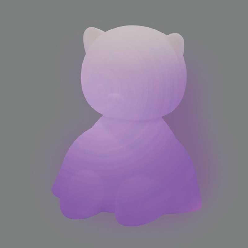 Nattou Lapidou Yövalo silikoni, Kissa Nattou - 4