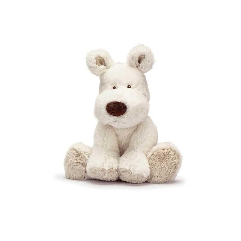 Teddykompaniet Cream Koira Pieni, Valkoinen 21cm Teddykompaniet - 1