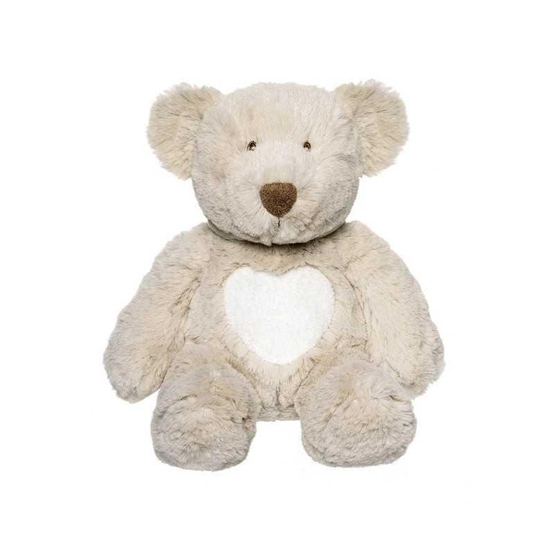 Teddykompaniet Cream Nalle Pieni, Harmaa 28cm Teddykompaniet - 1