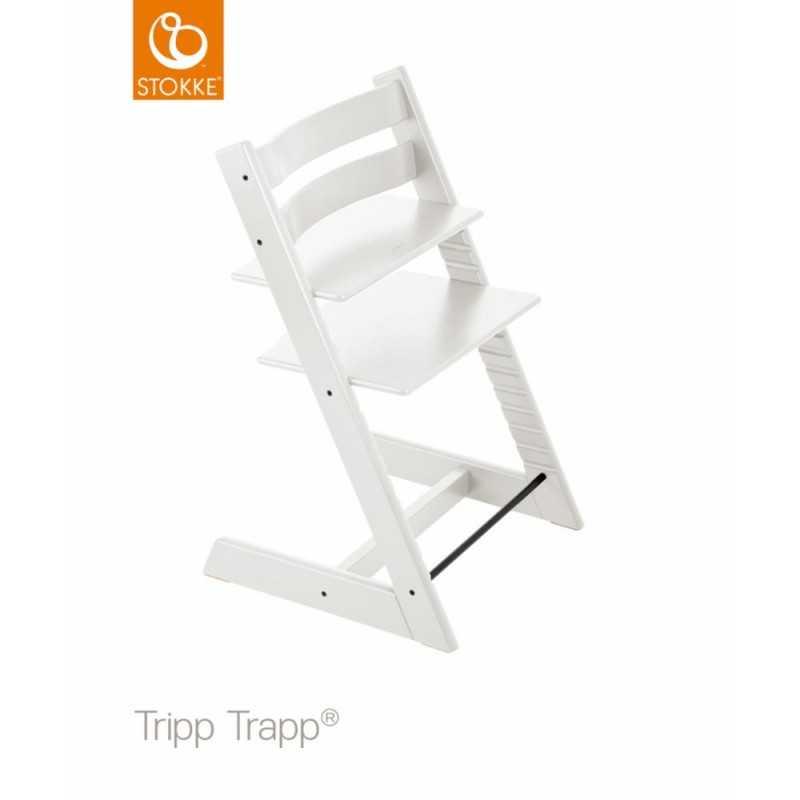 Stokke Tripp Trapp syöttötuoli, Valkoinen Stokke - 1