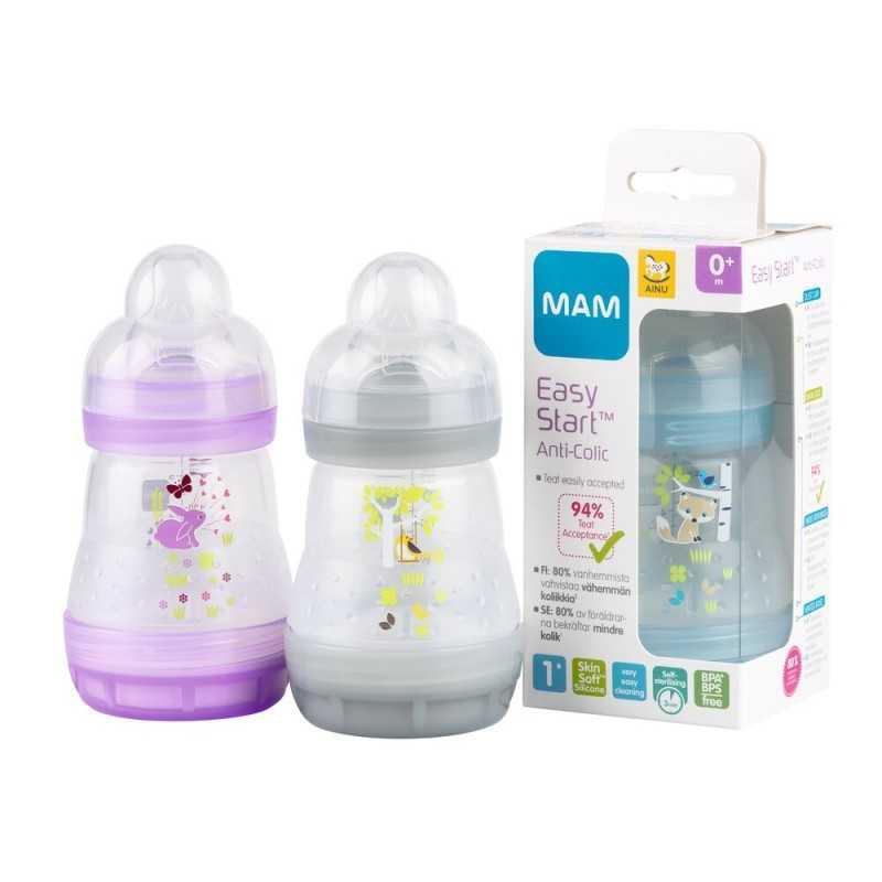 Ainu Mam Easy Start Tuttipullo 160 ml Ainu - 1