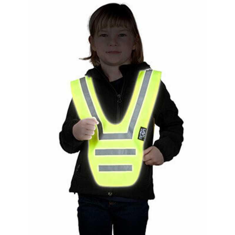 SafetyMaker Heijastinkauluri, Keltainen SafetyMaker - 2