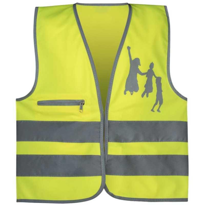 SafetyMaker Heijastinliivi 3-6v, Keltainen SafetyMaker - 1