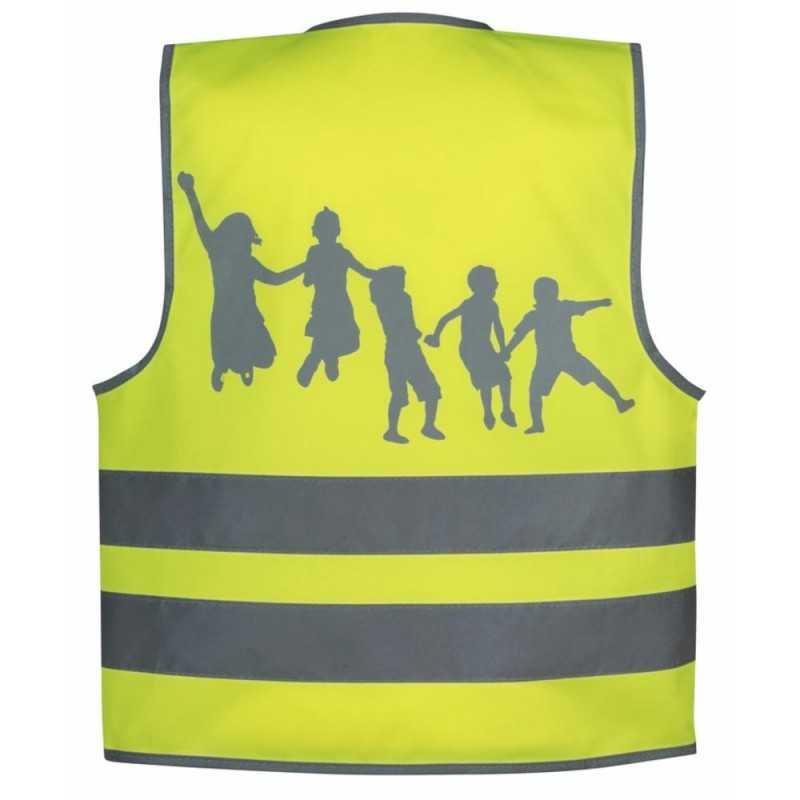 SafetyMaker Heijastinliivi 3-6v, Keltainen SafetyMaker - 2