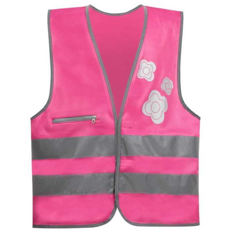 SafetyMaker Heijastinliivi 3-6v, Pinkki SafetyMaker - 1