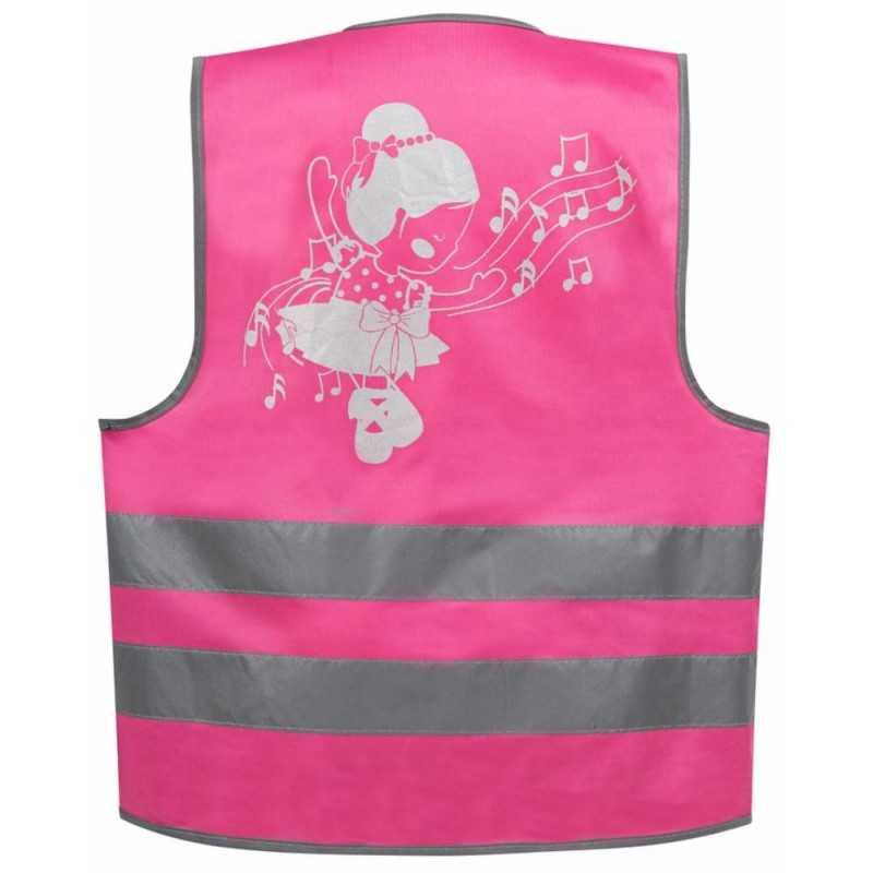SafetyMaker Heijastinliivi 3-6v, Pinkki SafetyMaker - 2