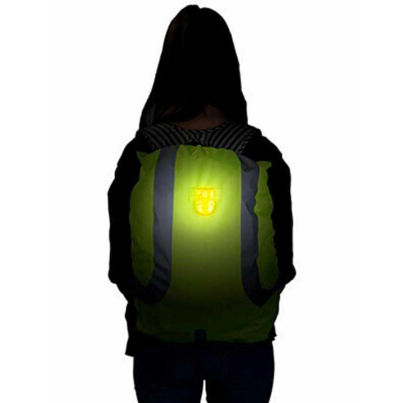 SafetyMaker LED Klipsivalo, Keltainen SafetyMaker - 2