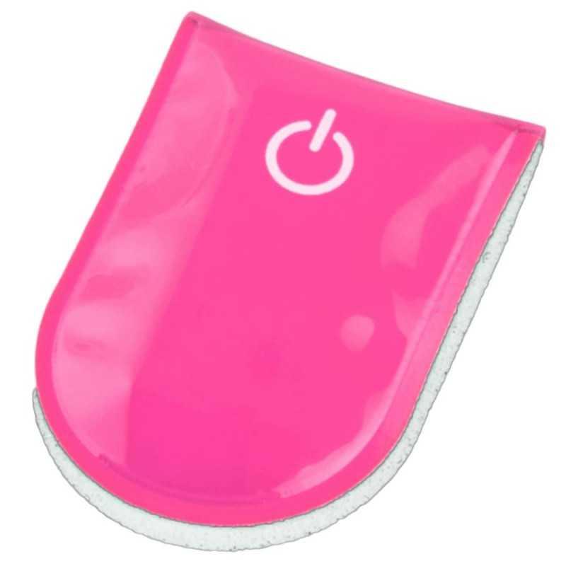 SafetyMaker LED Klipsivalo, Pinkki SafetyMaker - 1