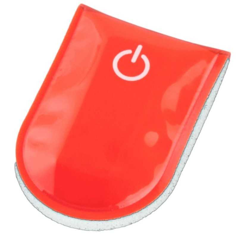 SafetyMaker LED Klipsivalo, Punainen SafetyMaker - 1