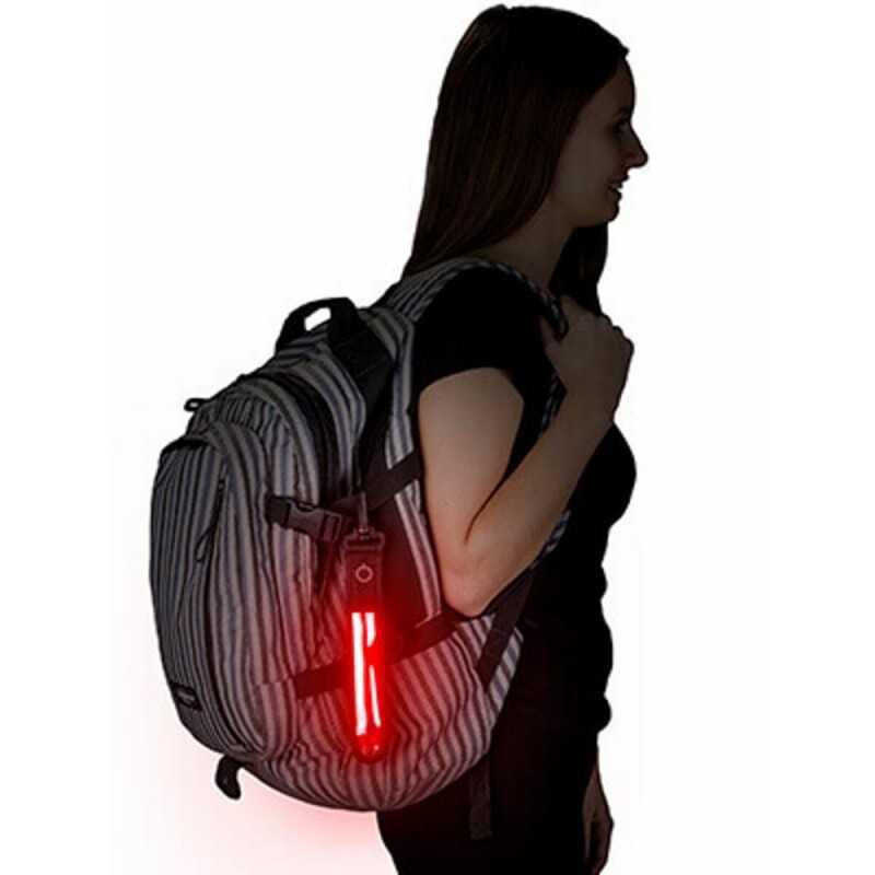 SafetyMaker LED-valo Roikkuva, Punainen SafetyMaker - 2