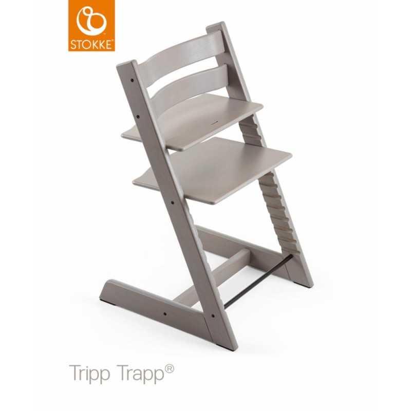 Stokke Tripp Trapp syöttötuoli, Greywash Stokke - 1