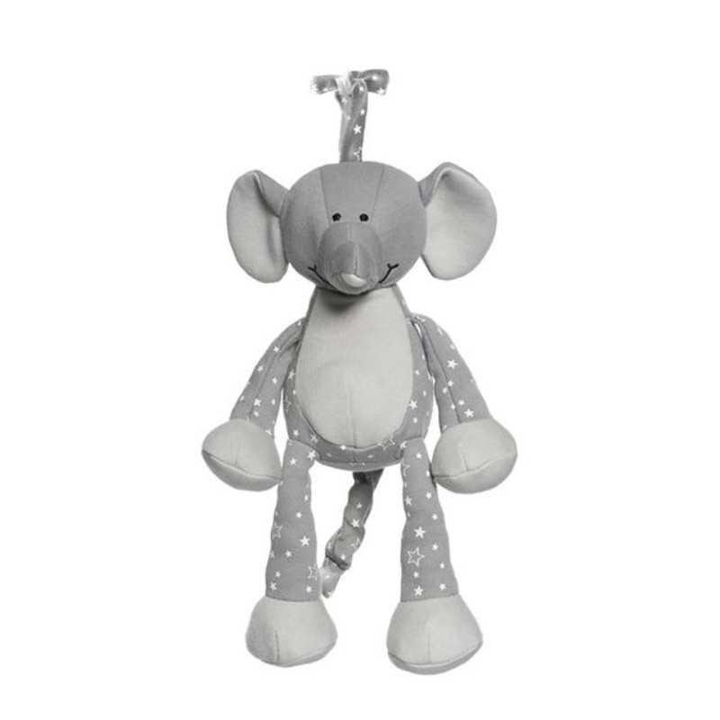 Teddykompaniet Soittorasia Organic, Elefantti Teddykompaniet - 1