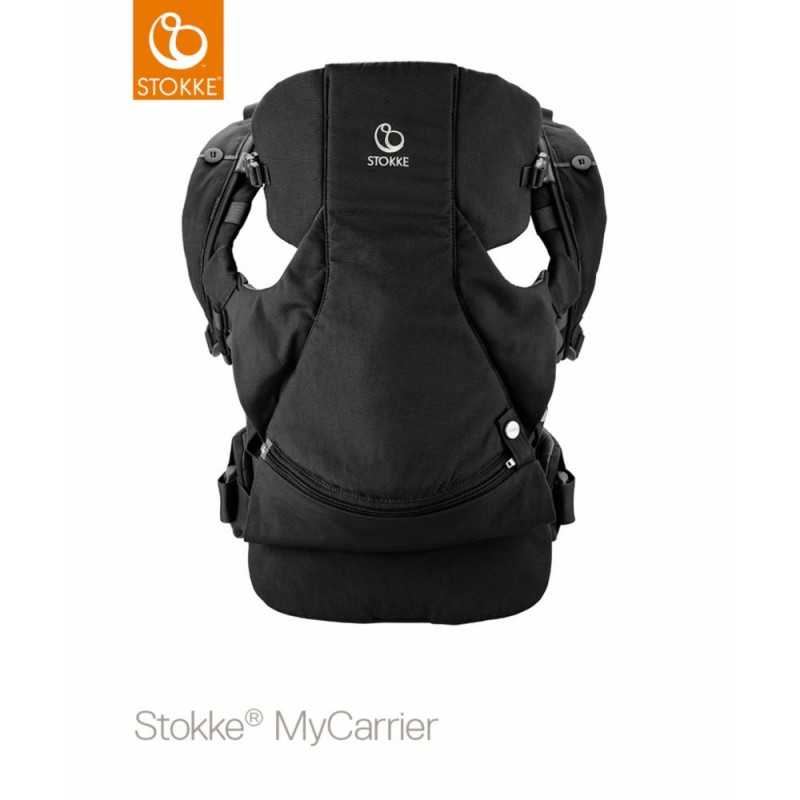 Stokke MyCarrier Front and Back, Black Stokke - 1