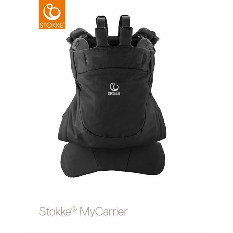 Stokke MyCarrier Front and Back, Black Stokke - 2