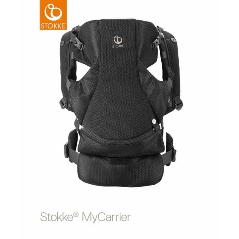 Stokke MyCarrier Front and Back, Mesh Black Stokke - 1