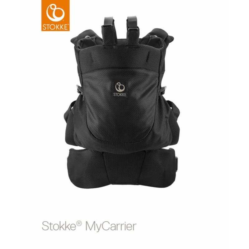 Stokke MyCarrier Front and Back, Mesh Black Stokke - 2