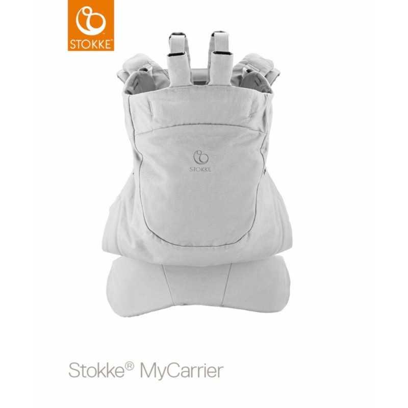 Stokke MyCarrier Front and Back, OCS Grey Stokke - 2