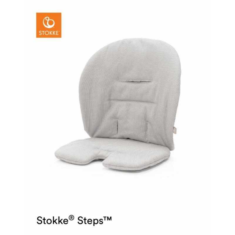 Stokke Steps Cushion, Timeless grey Stokke - 1