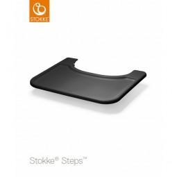 Stokke Steps Tray tarjotin, Musta Stokke - 1