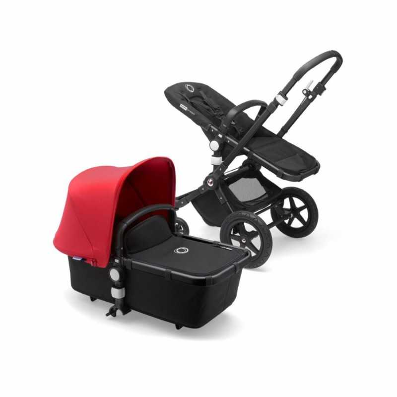 Bugaboo Cameleon3 Plus Complete, Black/Red Bugaboo - 1