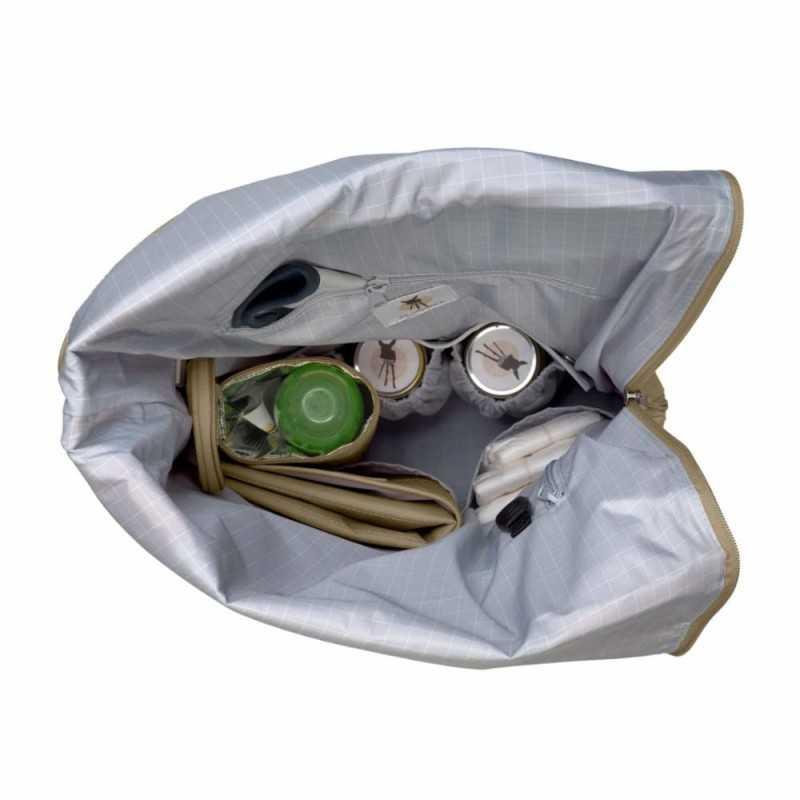 Lässig Rolltop Backpack, Olive Lässig - 3