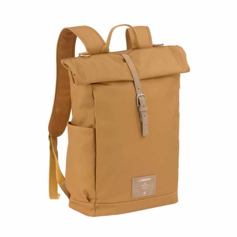 Lässig Rolltop Backpack, Curry Lässig - 1