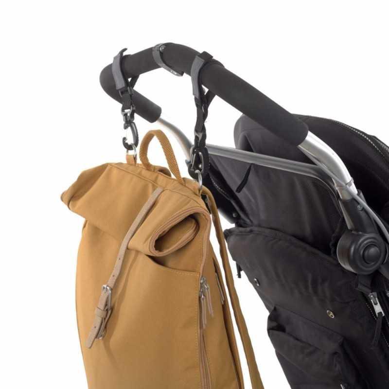 Lässig Rolltop Backpack, Curry Lässig - 4