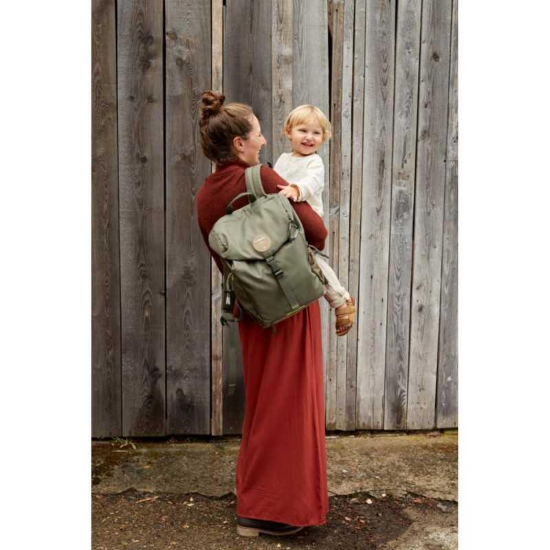 Lässig Outdoor Backpack, Olive Lässig - 2